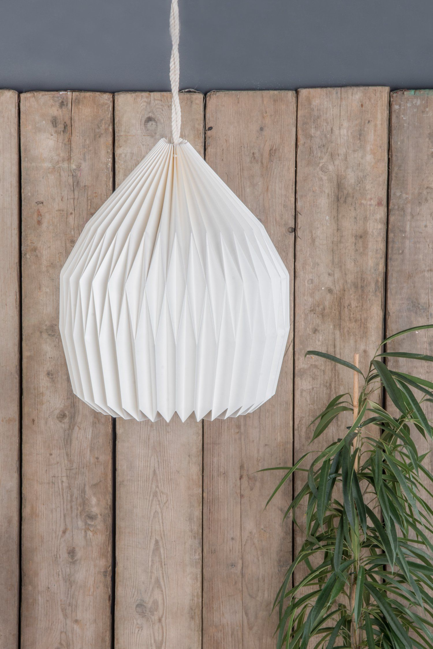 Dome natural pleated paper lampshade paper lampshade