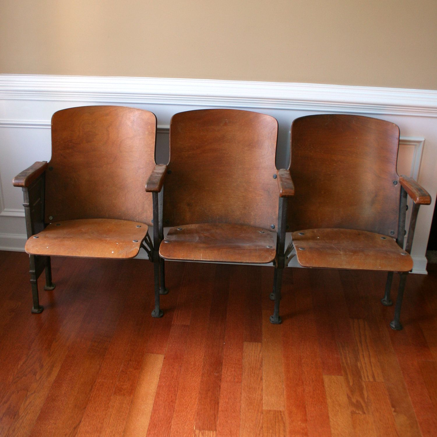 Chairs. Movie Theater Chairs. Man Furniture. Wood. Folding
