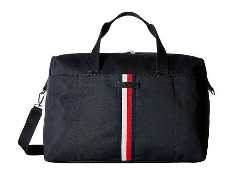 TOMMY HILFIGER Hudson Weekender Nylon. #tommyhilfiger #bags #travel bags #nylon #weekend #canvas #