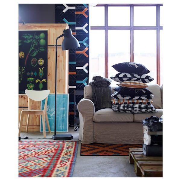 Hektar Floor Lamp With Led Bulb Dark Gray Floor Lamp Decor Home Furnishings