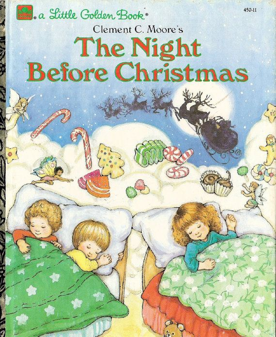 The Night Before Christmas Golden Book Books