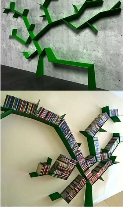 Green Tree Book Shelf