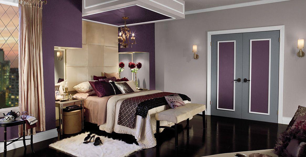 purple interior colors inspirations home bedroom bedroom rh pinterest com