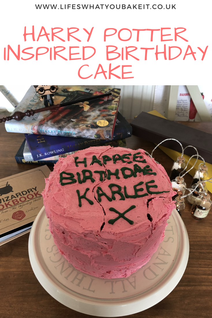 harry potter birthday cake cake recipes harry potter birthday rh pinterest com