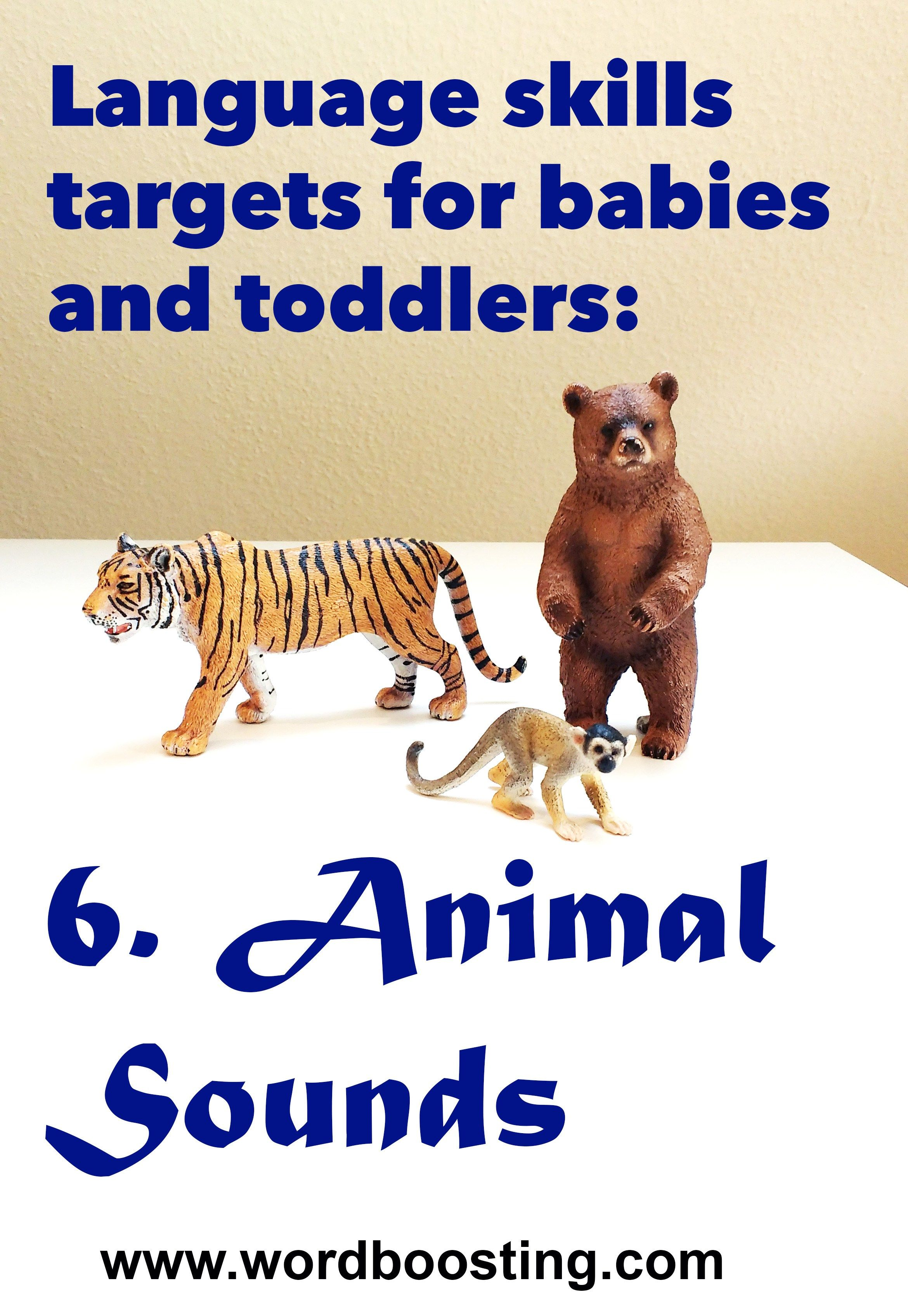 Making fun animal sounds is an effective way to kickstart early language skills. Check out these fun ideas to get babies and toddlers talking.