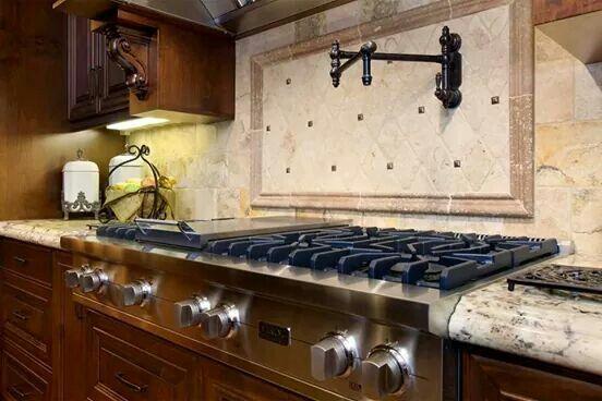 Water Spigot Over Stove Brilliant Kitchen Kitchen Appliances