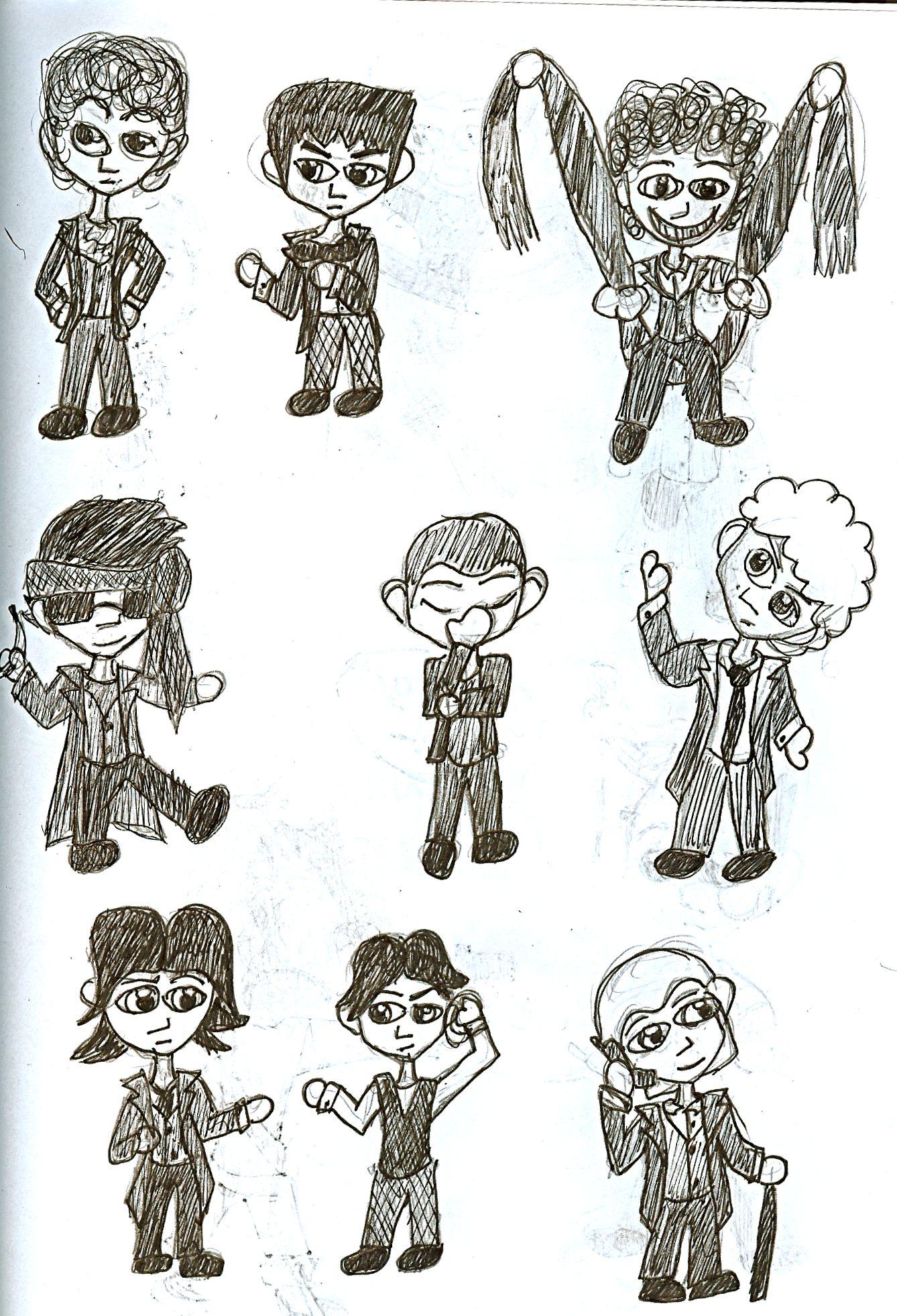 Kelsie's awesome drawings!