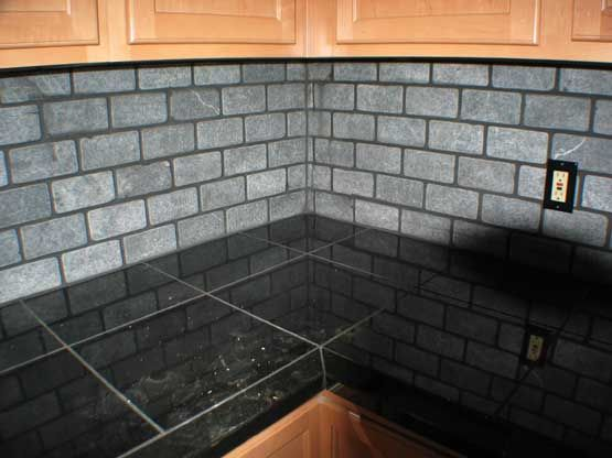 Tile Kitchen Countertops Kitchen Redo Pinterest