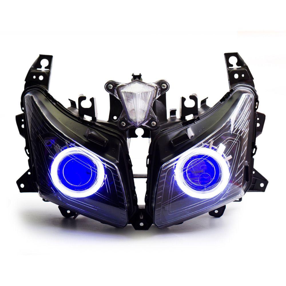 KT Headlight for Yamaha TMax TMAX 530 20122014 LED Angel