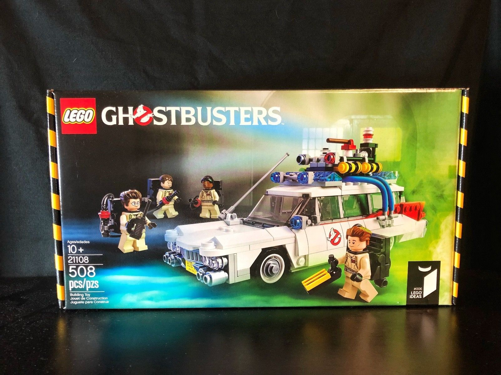 lego ideas 21108 ghostbusters ecto 1 2014 retired new in box rh pinterest com