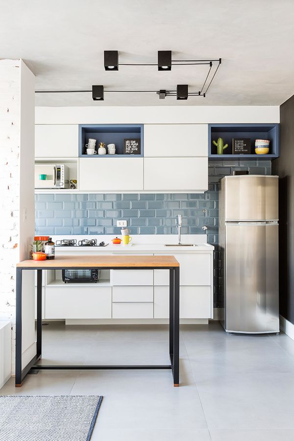 azulejos tipo metr Island kitchen ideas