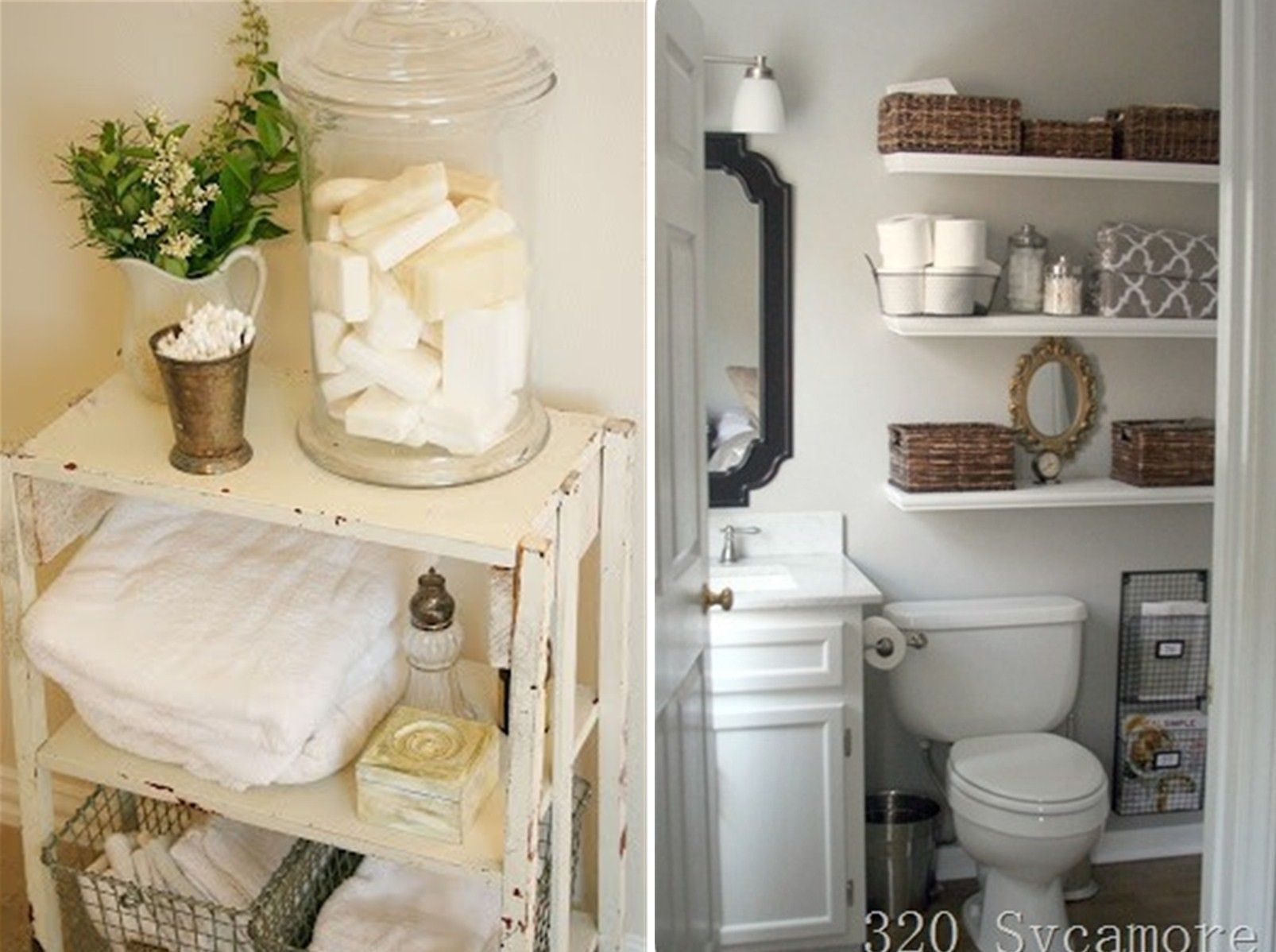 Great Ideas of Awesome Cute Apartment Bathroom Decorating Ideas for ...