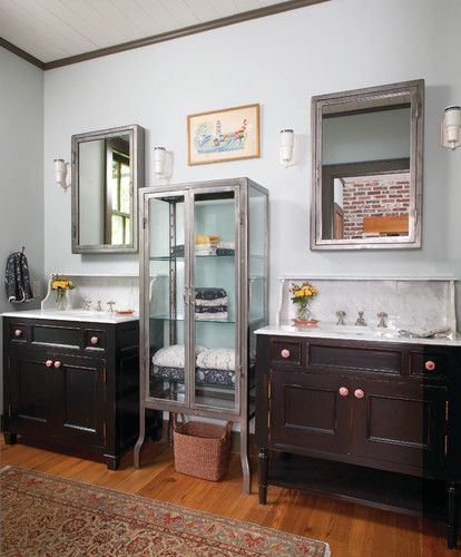 Dallas Bathroom Vanities: Creole Style Master Bathroom
