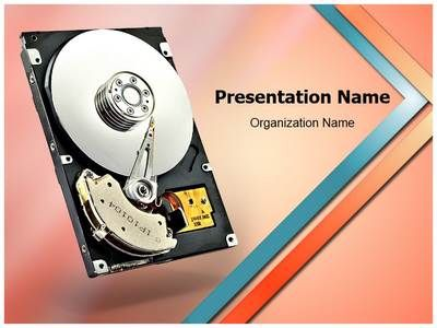 download our professionally designed computer hard drive ppt