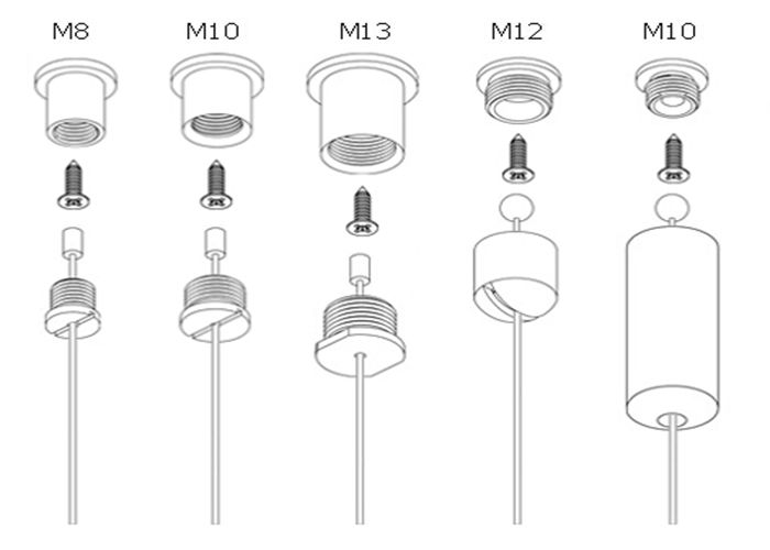 Lighting Suspension Wire Plug In Hanging Lamp Kit With Ceiling Cable L Shape Ings