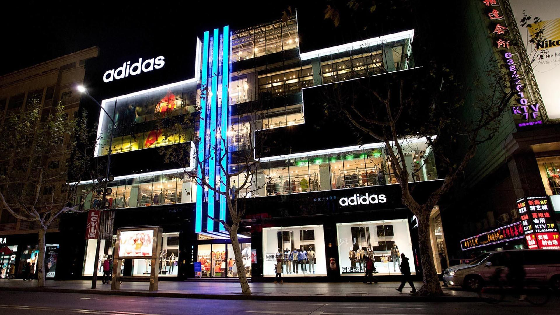 Global Interior Interactive Design Agency - Multi-Channel Retail Adidas Shanghai \\\ StartJG