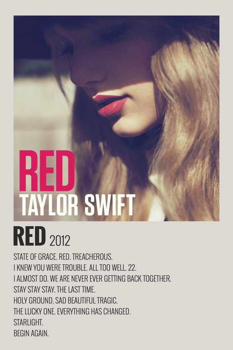 minimalist music taylor swift posters