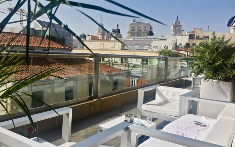 Terraza Hotel Urban Madrid Panoramic Views House Styles