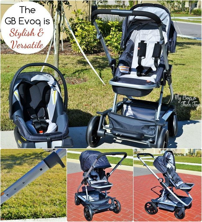 In the market for a stroller travel system? Here's 5 reasons to love the GB Evoq! #GbThatsMe #ad #IC