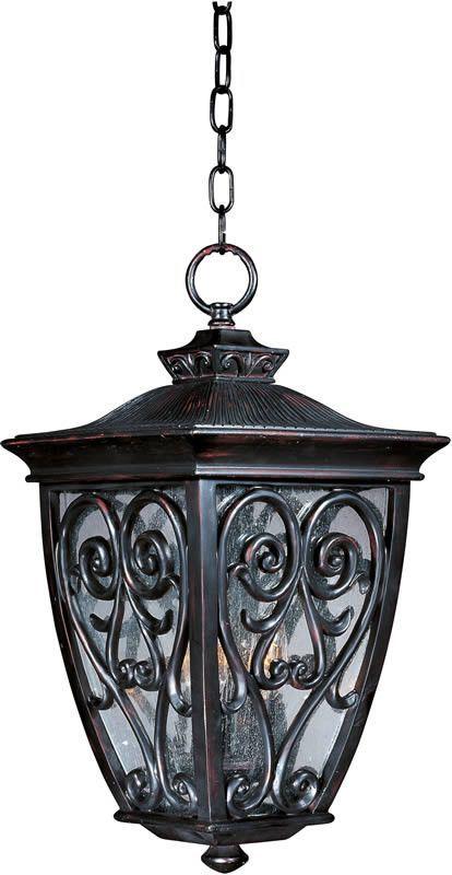 12 inchw newbury vivex 3 light outdoor hanging lantern oriental rh pinterest com
