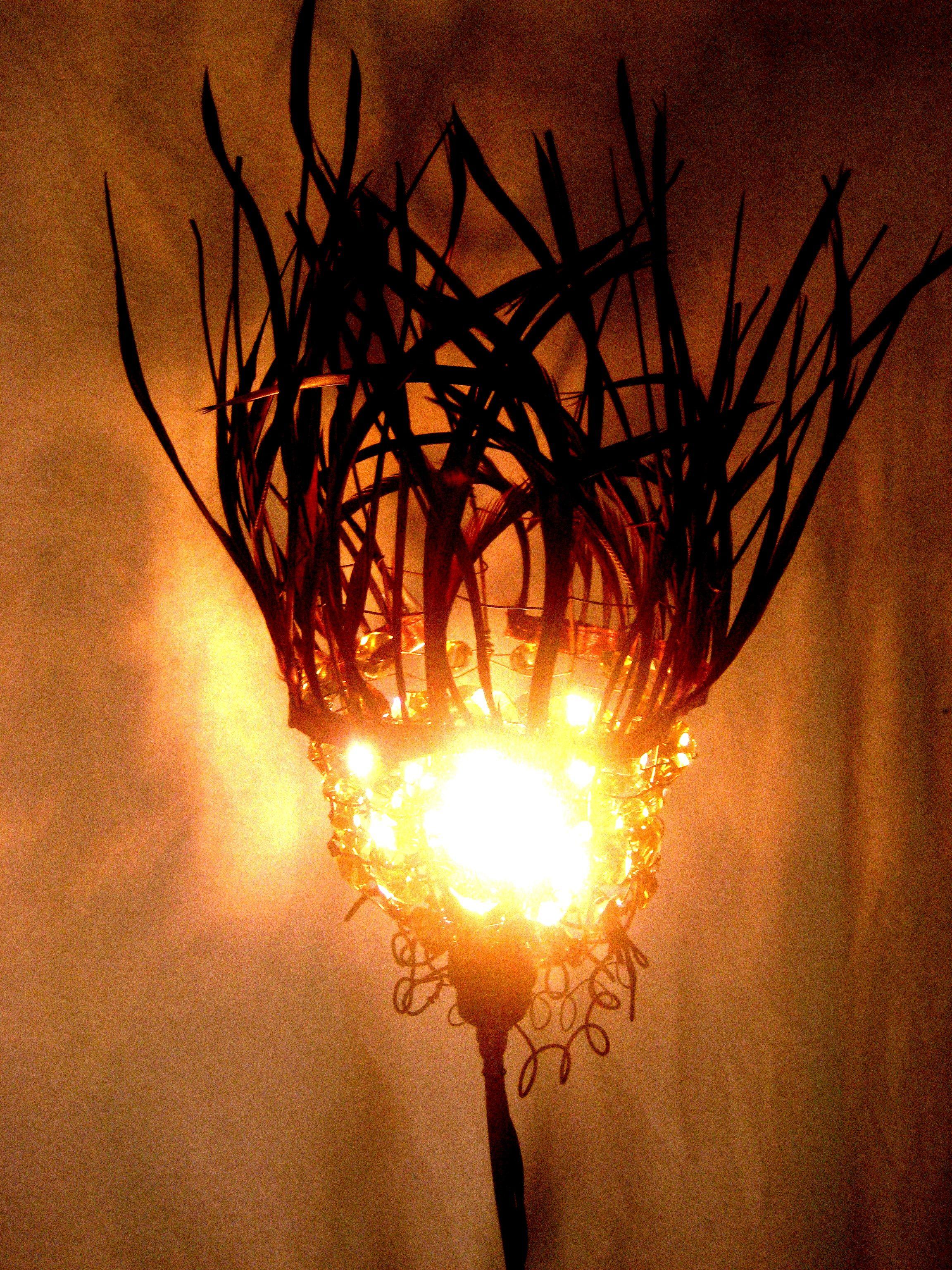 lamparas hechas a mano, con cariño y mucho arte