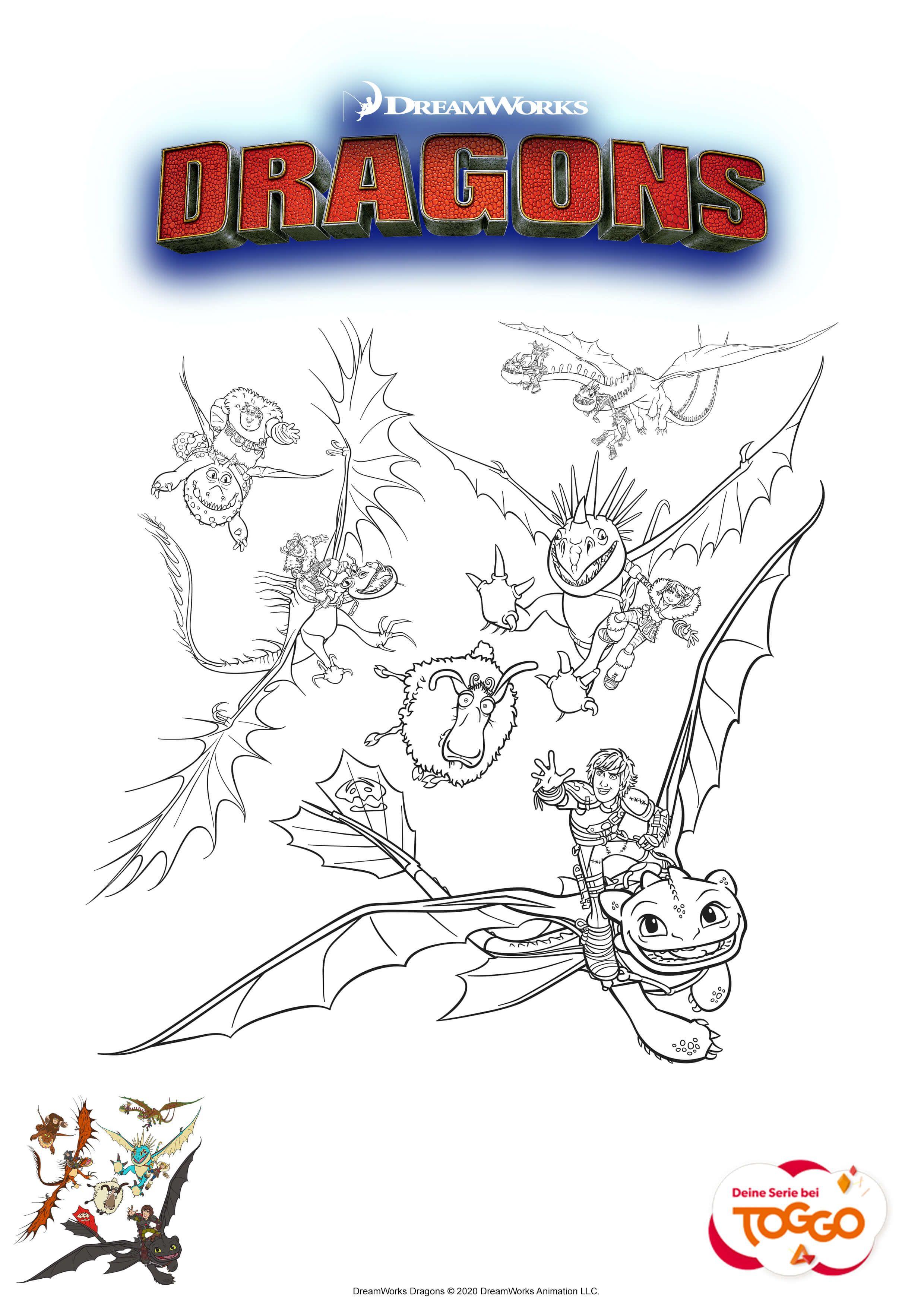 Ausmalbilder Eurer Lieblingshelden Mifus Family Dragons Ausmalbilder Ausmalbilder Ausmalen