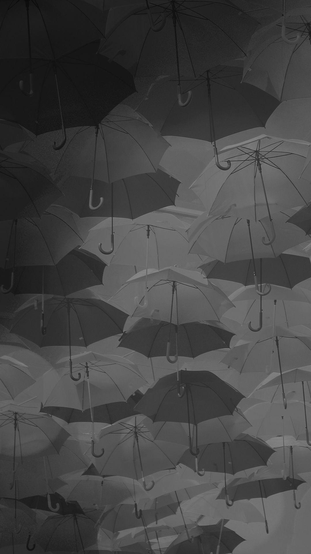 Umbrella party dark pattern iphone 6 plus wallpaper