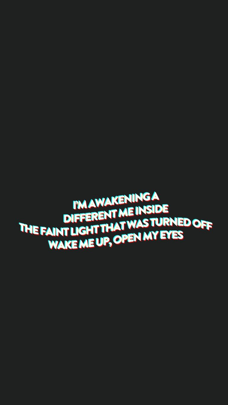 Bap Wake Me Up Lockscreen Lyric Wallpaper Kpop In 2019 Pop