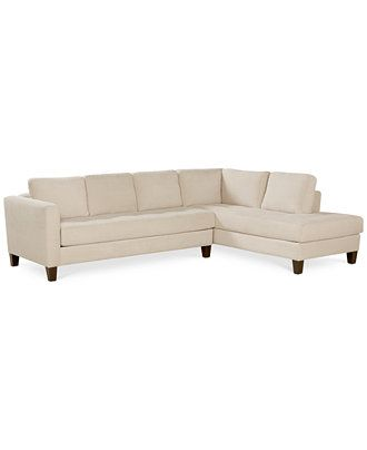 rylee fabric 2 piece sectional sofa couches sofas furniture rh pinterest com