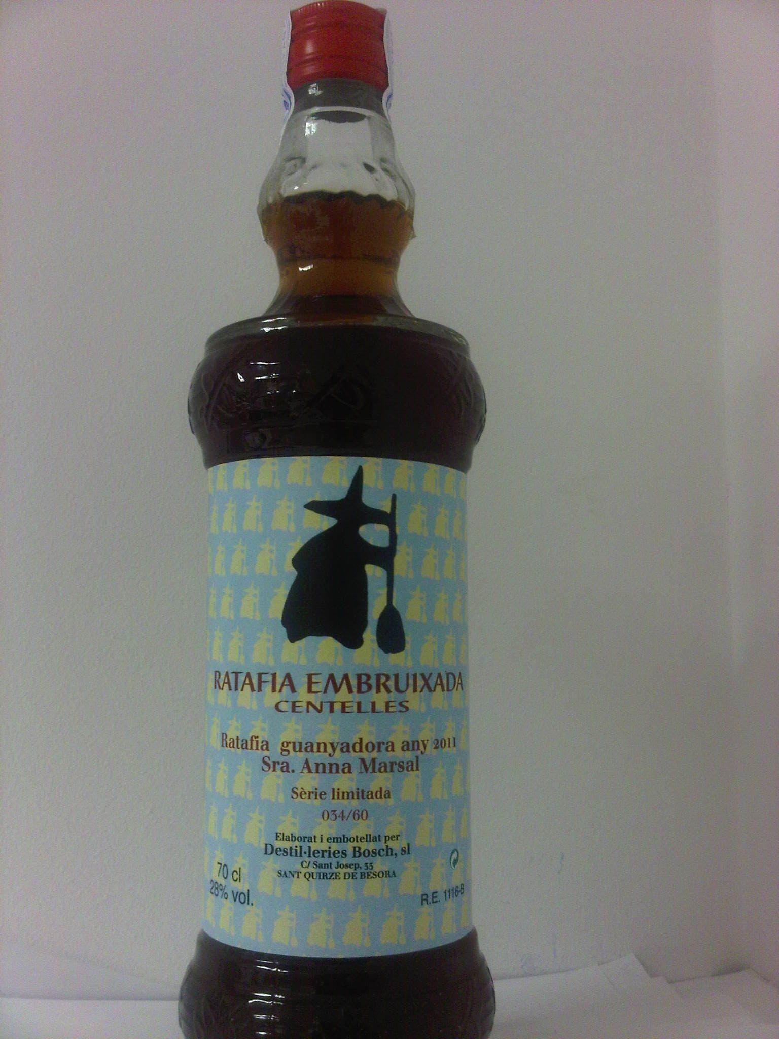 Ratafia Embruixada De Centelles 2013 Ampolla 70 Cl Preu 15 Ampolleta