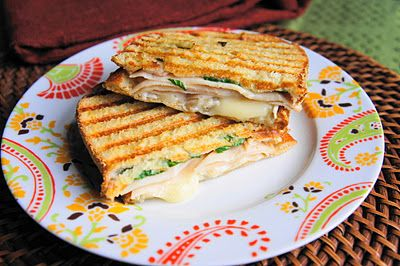 Absolutely. Yum. Turkey and Brie Panini.