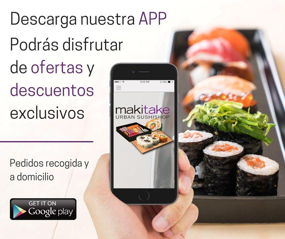 Descarga Nuestra App En Sushisabadell Com Y Podras Disfrutar De