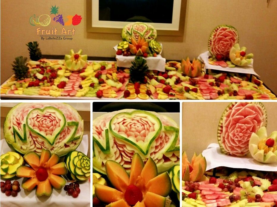 Miraculous Theme Inspired Fruit Carvings And Displays Chocolate Fountains Easy Diy Christmas Decorations Tissureus
