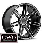 1-New 18 (18x8) Niche Lucerne 5x114.3 +40mm Black Chrome Wheel Rim - 18x8, 1New, 40mm, 5X114.3, Black, CHROME, LUCERNE, Niche, Wheel