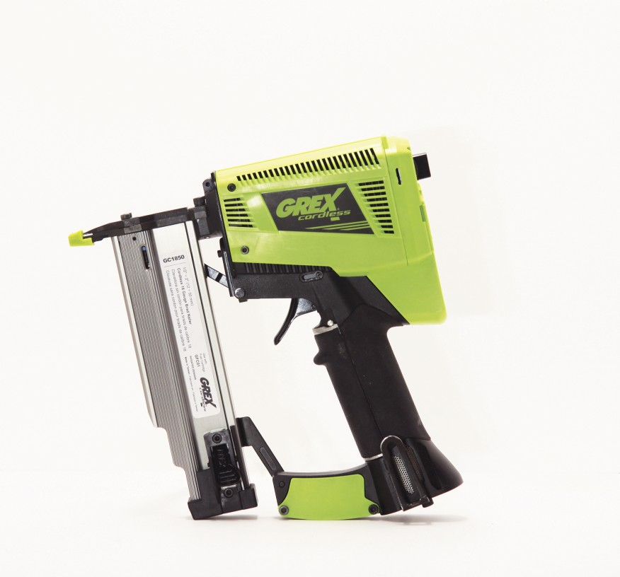 Best Overall Grex GC1850 Cordless Brad Nailer Tools of