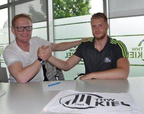 THW Kiel verlängert mit Dener Jaanimaa Handball
