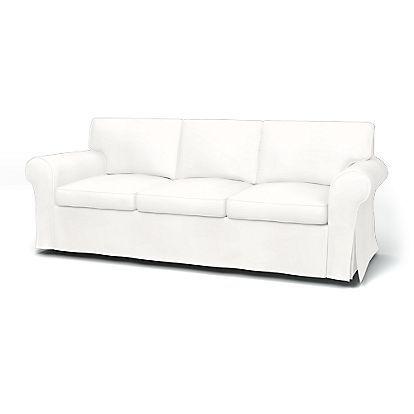 ektorp 3er sofabezug mit paspeln living room duck blue sofa rh pinterest de
