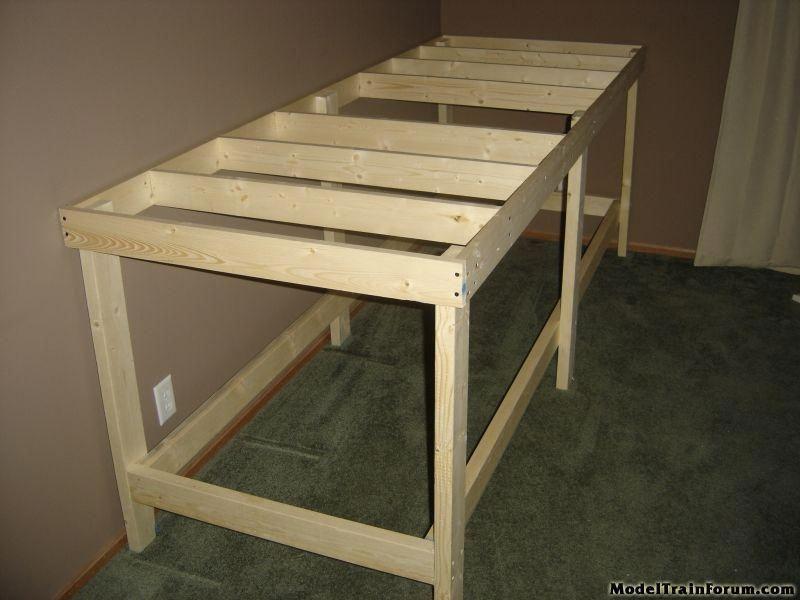 model train table plans modeltraintable modeltrainhowto model rh pinterest com
