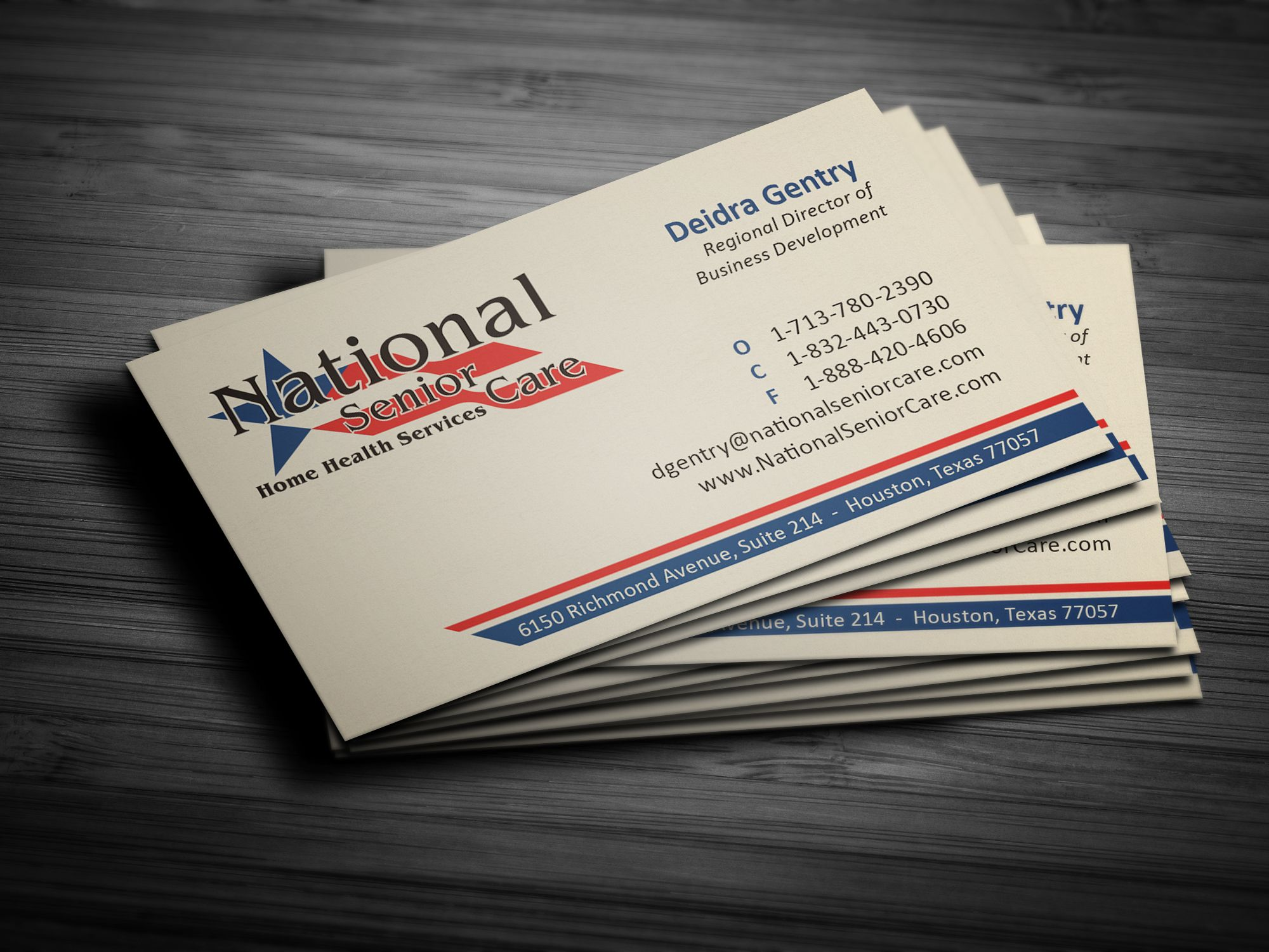 National senior care business card printed by alphagraphics sugar national senior care business card printed by alphagraphics sugar land reheart Image collections