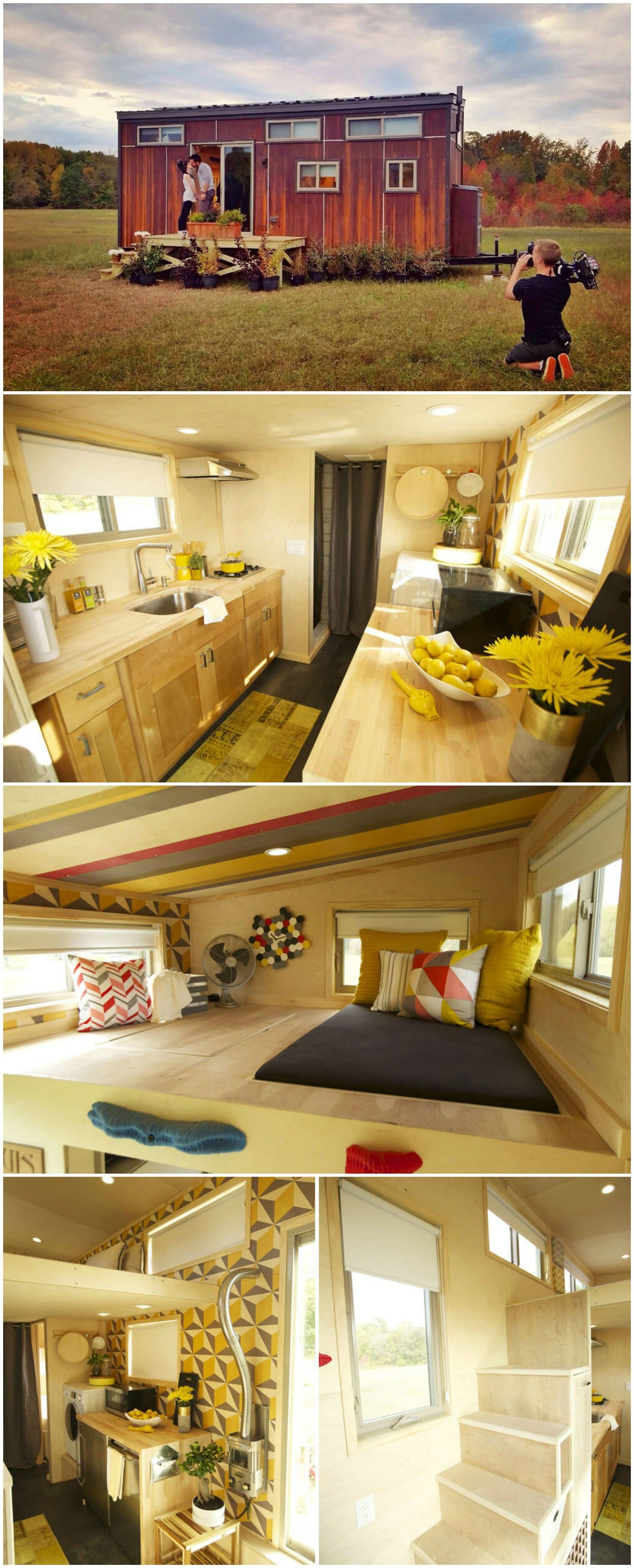 Z Huis is an awesome tiny house built