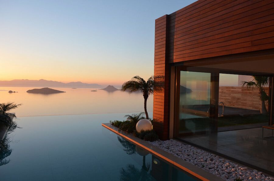 could this be the world s most beautiful infinity pool bodrum rh pinterest com