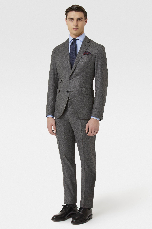 Costume uni en laine et cachemire Mayfair Hackett - Costumes - Acheter par  produit - Hommes  d28edf281f0