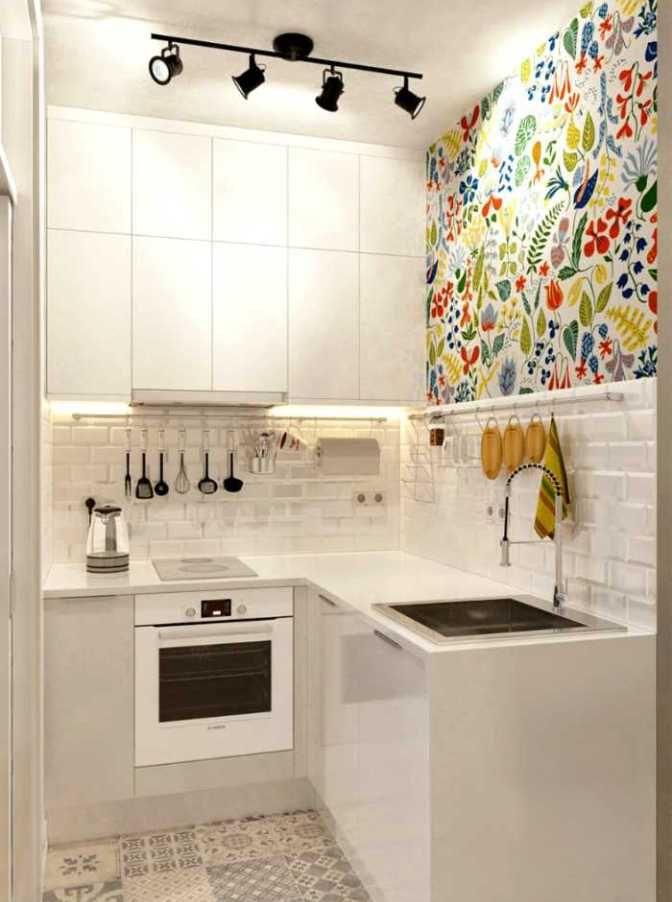 Paredes con Estilo para Cocinas Pequeñas | Ideas para decorar ...