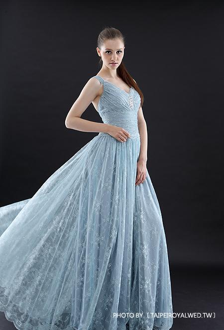 戀愛進化論 合 - GRADE BLUE DRESSES / FORMAL WEDDING - TaipeiRoyalWed.tw 台北蘿亞結婚精品 灰藍紫晚禮服