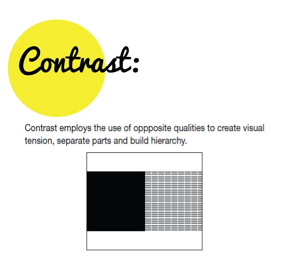 Contrast Art Principle The Image Kid