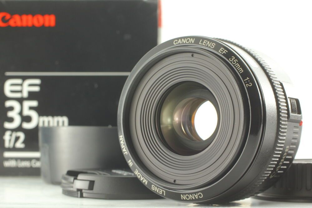 Near Mint In Box Canon Ef 35mm F2 Wide Angle Ef Mount Lens From Japan 4960999213576 Ebay Wide Angle Lens Camera Shop