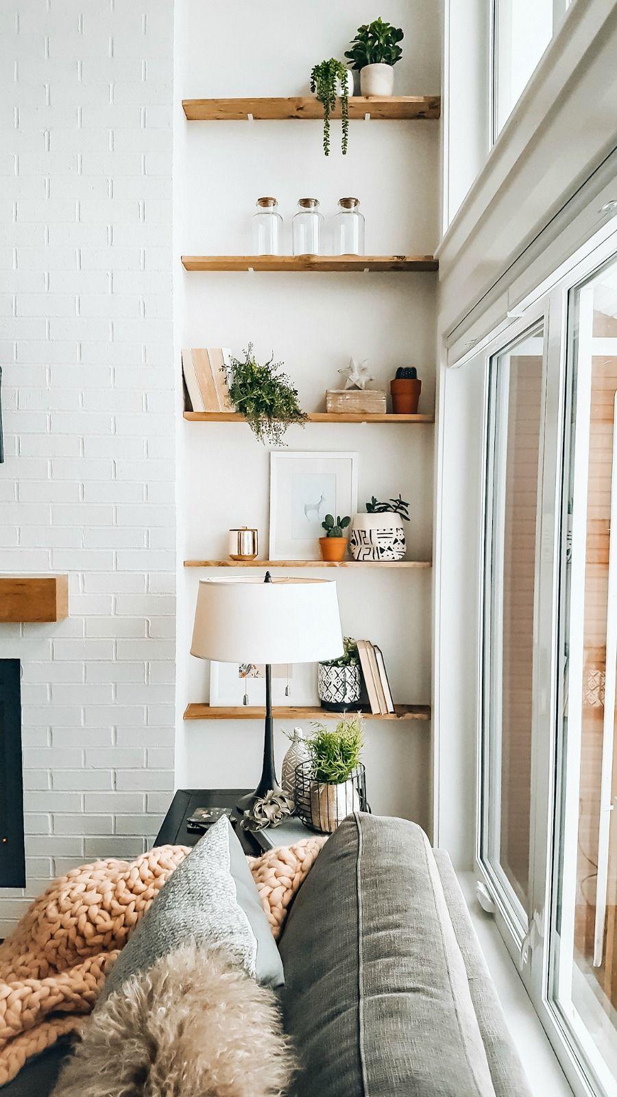 shelving for living room in 2020 living room shelves on shelves for wall id=68270