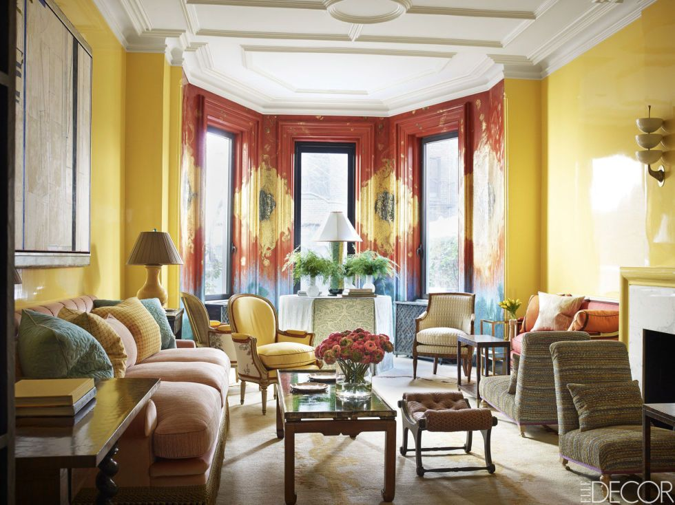 house tour a new york city townhouse infused with color and romance rh pinterest com