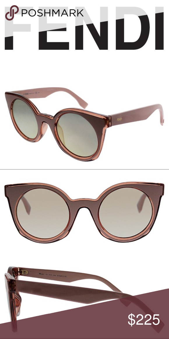 9684c985b3 Fendi cat-eye sunglasses Made in Italy Cat-eye frame Comes with hard ...