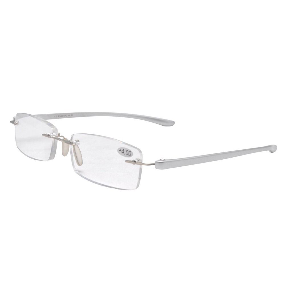 f111dd7e587 Click to Buy    R14001 Silver Eyekepper Small Lenes Lightweight Rimless  Reading Glasses